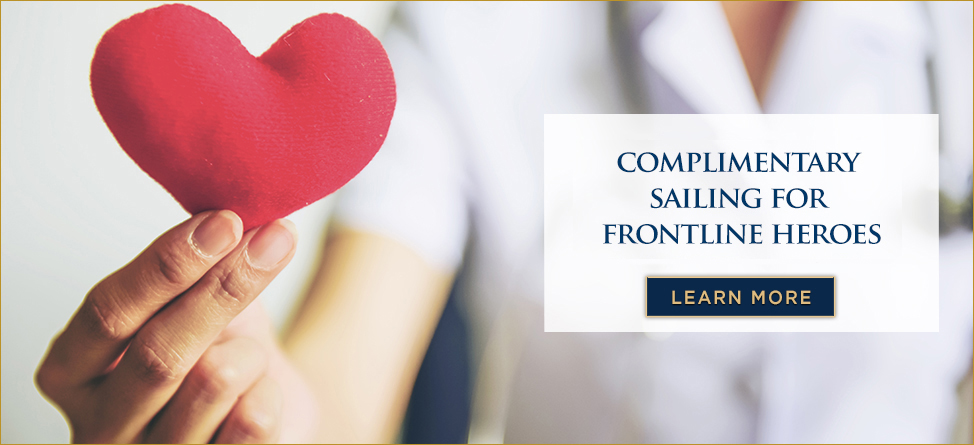 Complimentary sailing for frontline medical heroes