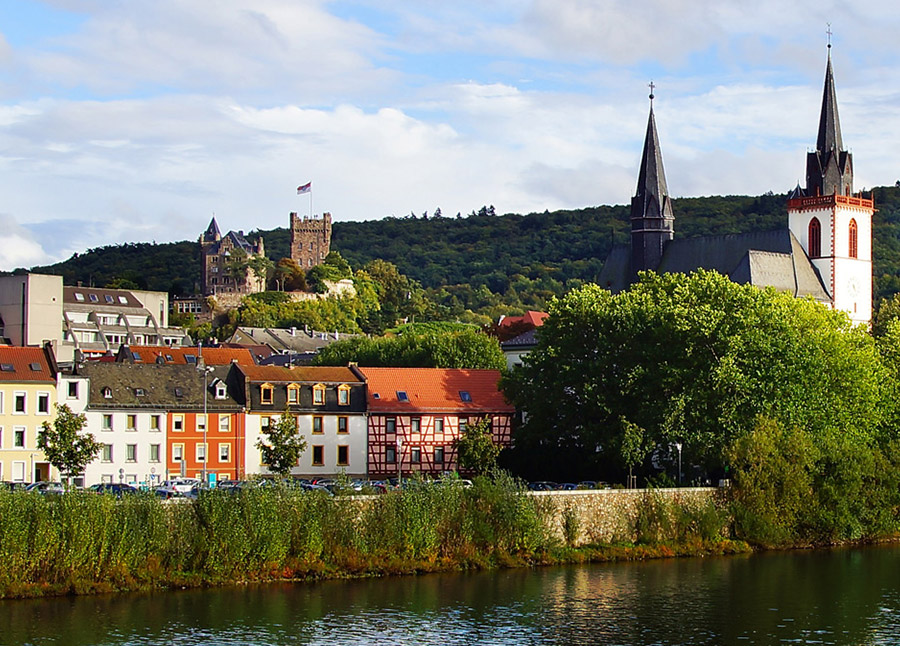 Castles Along The Rhine : 2023